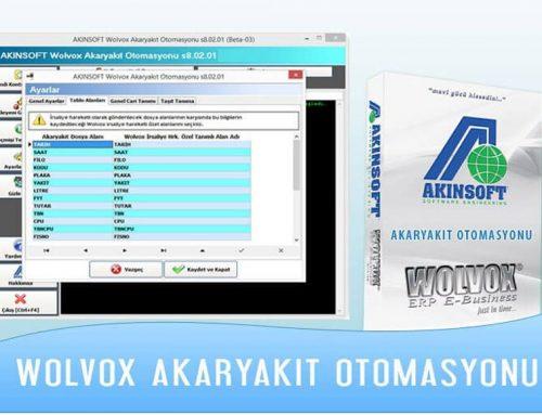 AKINSOFT Wolvox Akaryakıt Otomasyonu