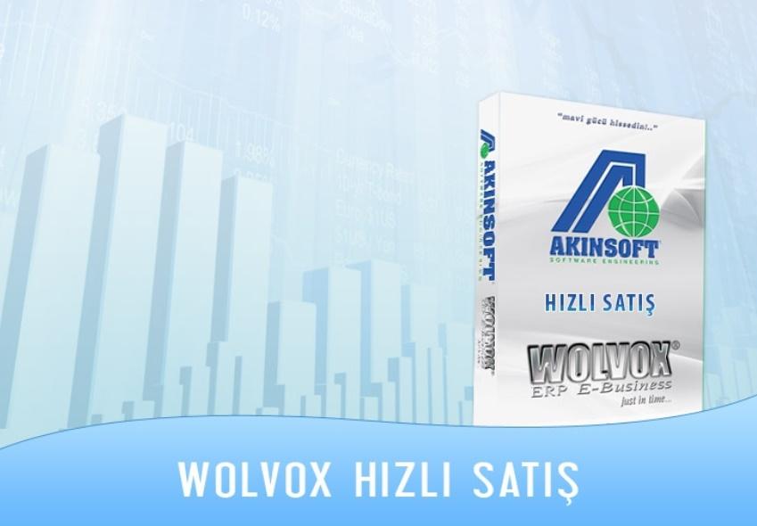 AKINSOFT Wolvox Hızlı Satış