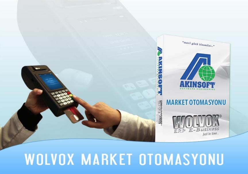 AKINSOFT Wolvox Market Otomasyonu