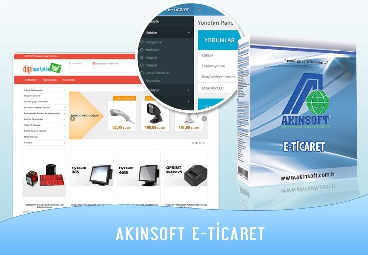 AKINSOFT E-ticaret