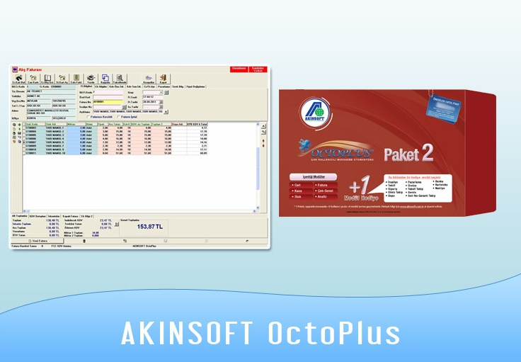 AKINSOFT ön muhasebe programı