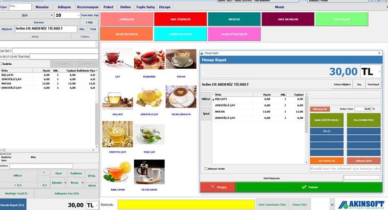 Beşiktaş Restaurant Otomasyon Sistemi