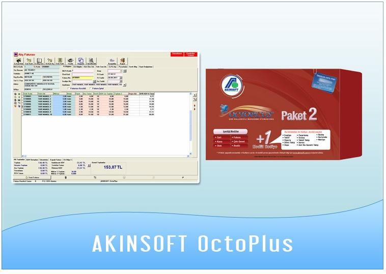 AKINSOFT Octoplus Ön muhasebe programı